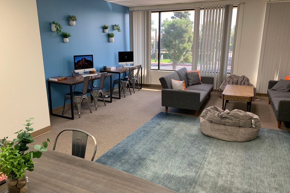 Great room for clinical intensive outpatient treatment.
